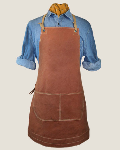 Canvas Apron - Toast