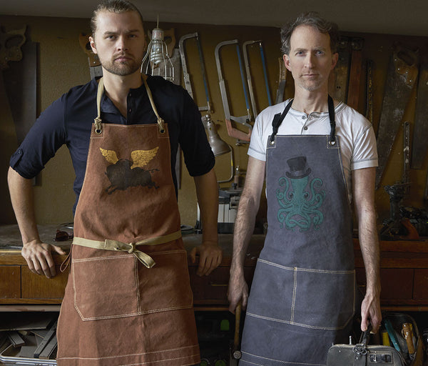 "Canvas Apron - ""Stay Wild"""
