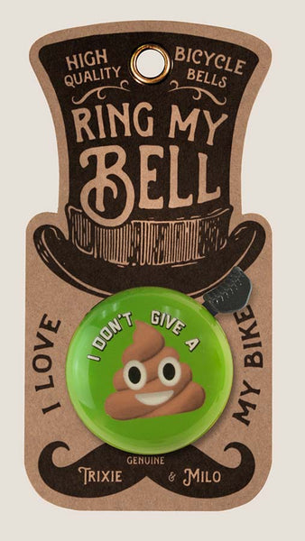 Turd Emoji - Bicycle Bell