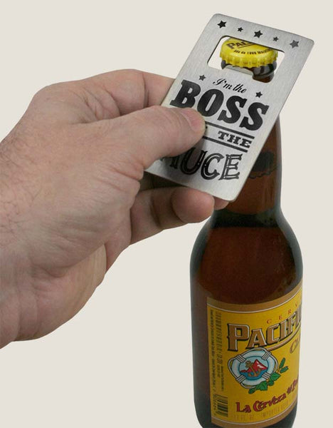 Credit Card Bottle Opener - Down the Hatch