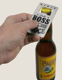 Credit Card Bottle Opener - Boss with the Sauce