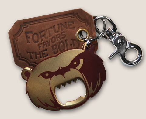 Grizzly Bear - The Gentleman's Bottle Opener & Key Ring