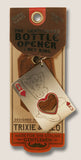 Queen of Hearts - The Gentleman's Bottle Opener & Key Ring