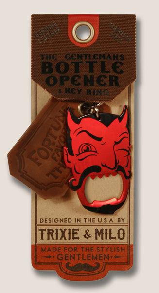 Red Devil - The Gentleman's Bottle Opener & Key Ring