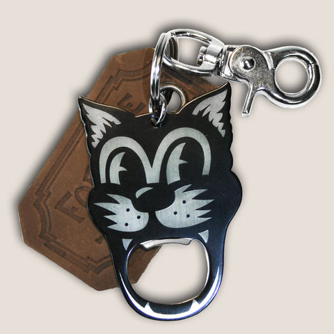 Tomcat - The Gentleman's Bottle Opener & Key Ring
