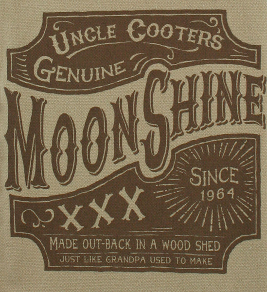 Moonshine - Bar Towel