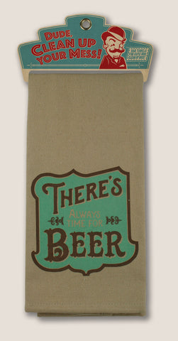 Time for Beer - Bar Towel