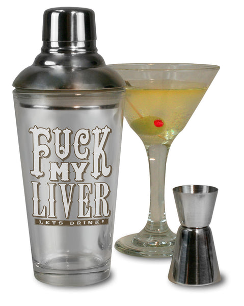 F*ck My Liver - Cocktail Shaker