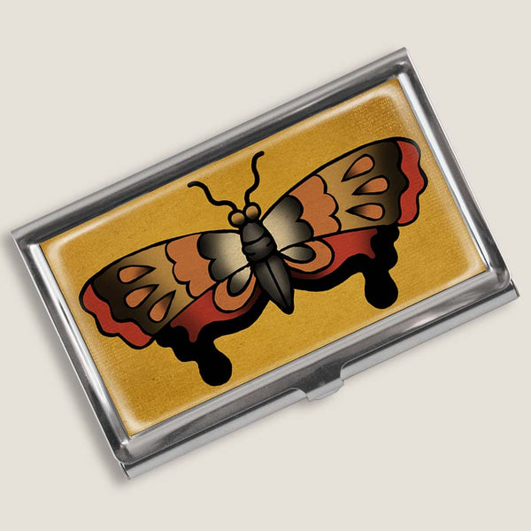 Tattoo Butterfly - Business Card Holder