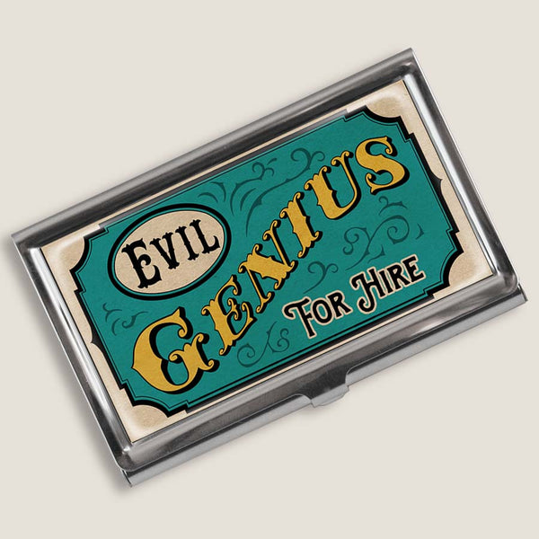 Evil Genius - Business Card Holder