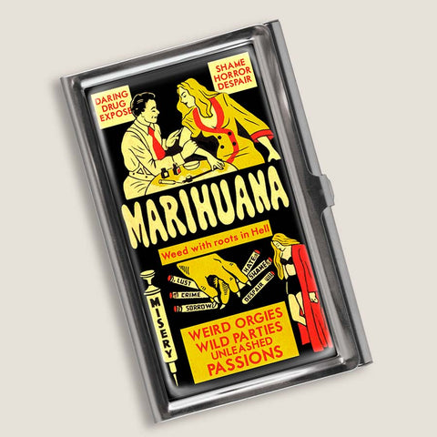 Marihuana - Business Card Holder
