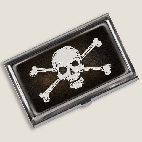 Skull & Bones - Business Card Holder