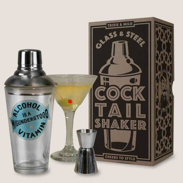 Pick Your Poison - Cocktail Shaker