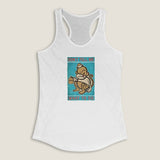 Don't Tell Me What To do (tank) - LCKY JACK - Women's Racerback Tank, vintage graphic, drunk monkey, funny and cute