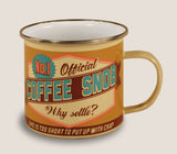 Coffee Snob - Enamel Mug