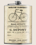 I found an old flyer in the Paris flea market for the newest BICYCLETTE from the early 1900s.  Perfect for the cyclist in your life.  Drink with style! Another creative barware design by Trixie & Milo. Whether you're heading to Springbreak, Coachella, or the just your local Speakeasy, you'll always stand out! Flasks are perfect for any bachelorette party, wedding gift or just as a cool fashion accessory!