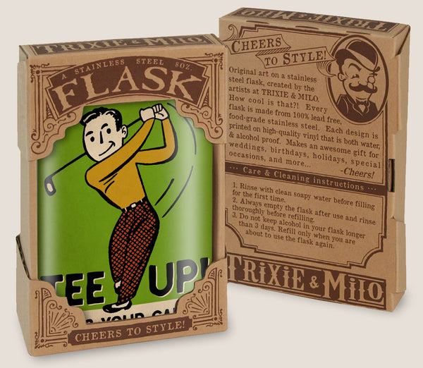 Who's Your Caddy? Golfing Flask for Men