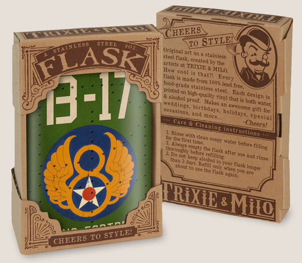 B-17 Flying Fortress - Flask
