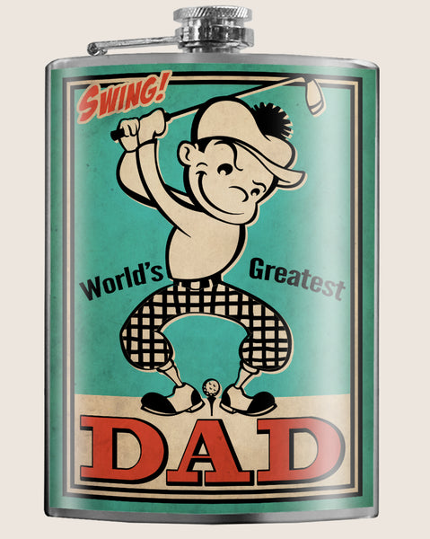 Golf Dad - Flask - LIMITED EDTION