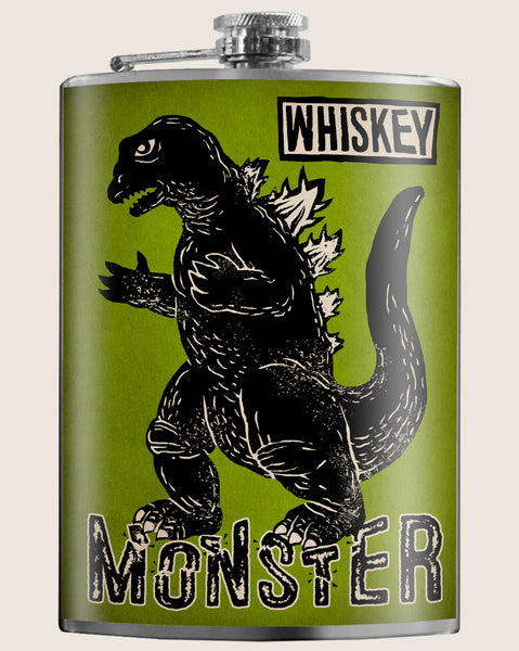 If you love whiskey as much as we do, you may be a WHISKEY MONSTER as well. Great gifts for Men. Gifts for Her. A classic barware design by Trixie & Milo. Whether you're heading to Spring break or the Speakeasy, you'll stand out wherever you go! Perfect for bachelorette parties, a wedding gift or just stylish hydration!