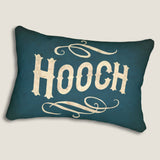 "Hooch - 14""x20"" Lumbar Pillow by LCKY JACK - Cocktail pillow, Bar pillow, cute accent pillow"