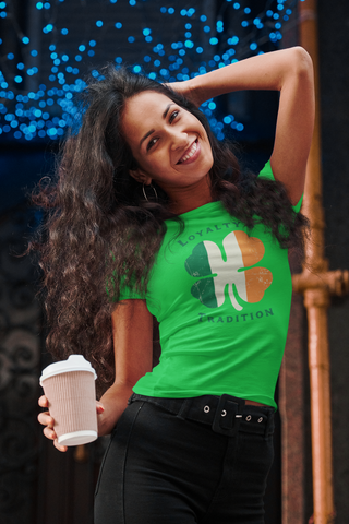 Loyalty and Tradition - Heavy Cotton Tee by Trixie & Milo, St. Patrick's Day tee, funny drinking shirt
