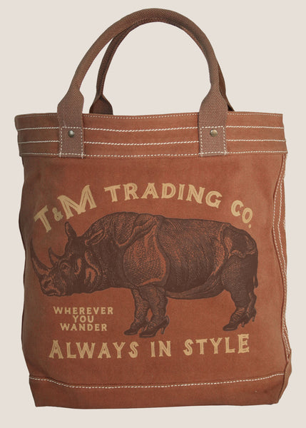 The Classic Market Tote - Stylish Rhino