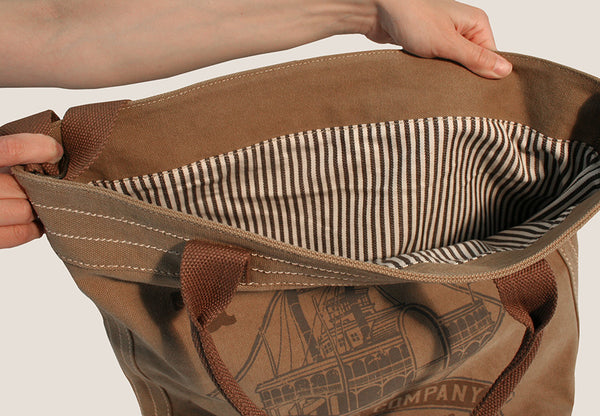 The Classic Market Tote - Riverboat