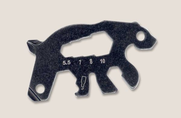 Keychain Bear- Micro tool by Trixie & Milo. Tools for keyring, great gifts for him