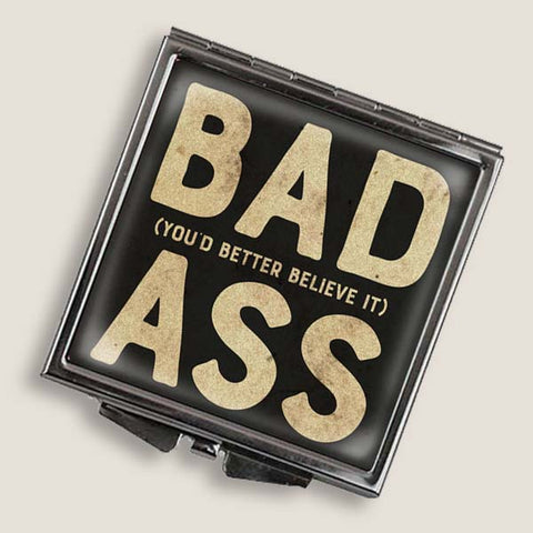 Bad Ass - Square Mirror Compact