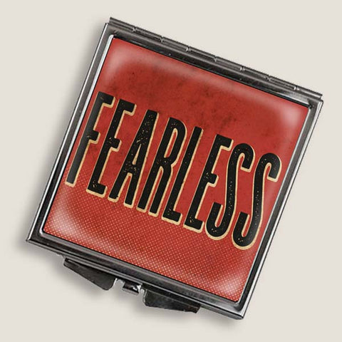 Fearless - Square Mirror Compact