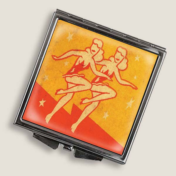 Showgirls - Square Mirror Compact