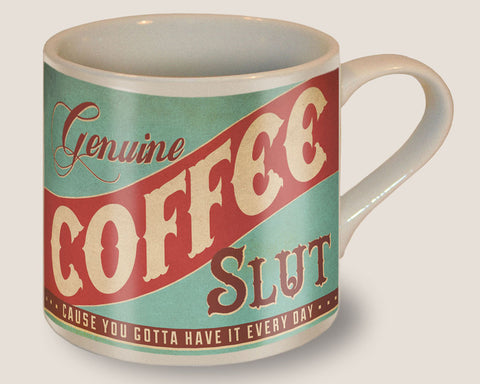 The Original Trixie & Milo Genuine Coffee Slut Mug