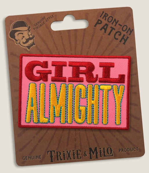 Girl Almighty - Iron-On Patch