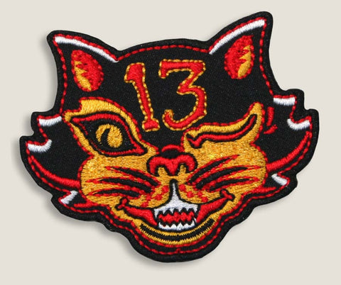 Black Cat - Iron-On Patch