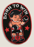 Born to Win - Iron-On Patch