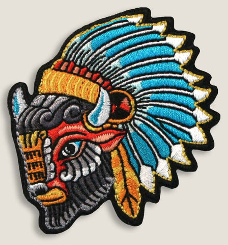 Buffalo Head - Iron-On Patch