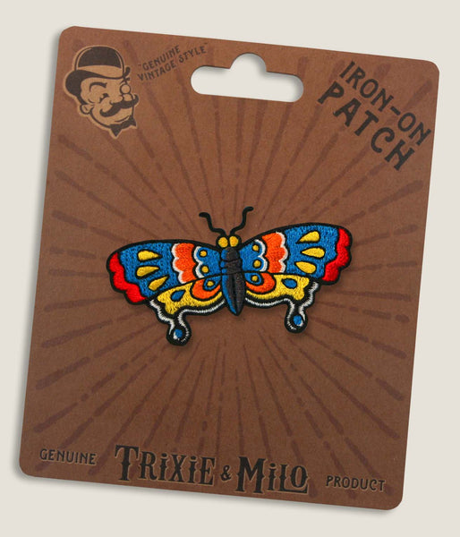Tattoo Butterfly - Iron-On Patch