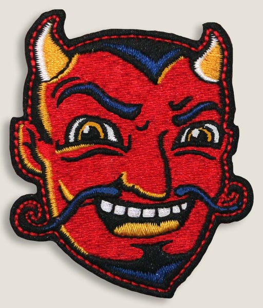 Laughing Devil - Iron-On Patch