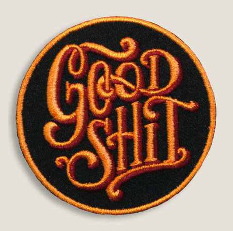 Good Shit - Iron-On Patch