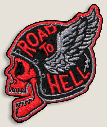 Road to Hell - Iron-On Patch