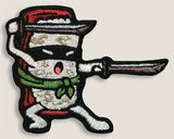 Sushi Ninja - Iron-On Patch