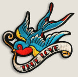 Tattoo Swallow - Iron-On Patch