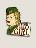 WW2 Army Wac - NATIONAL ARCHIVES - Enamel Pin