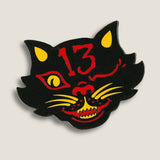 Black Cat 13 - Enamel Pin