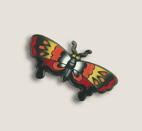 Tattoo Butterfly - Enamel Pin