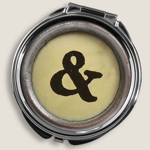 Ampersand - Round Pill Box