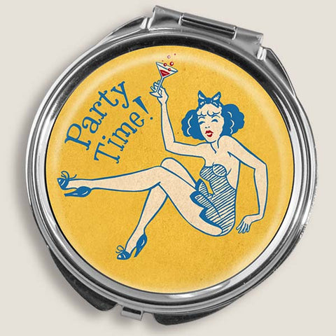 Party Girl - Round Pill Box