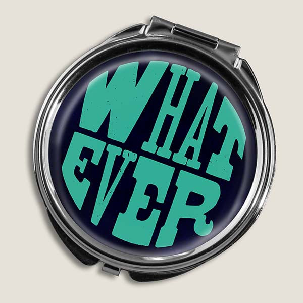 Whatever - Round Pill Box