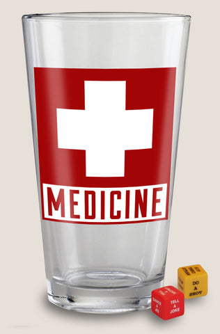 Medicine - Party in a Pint Glass